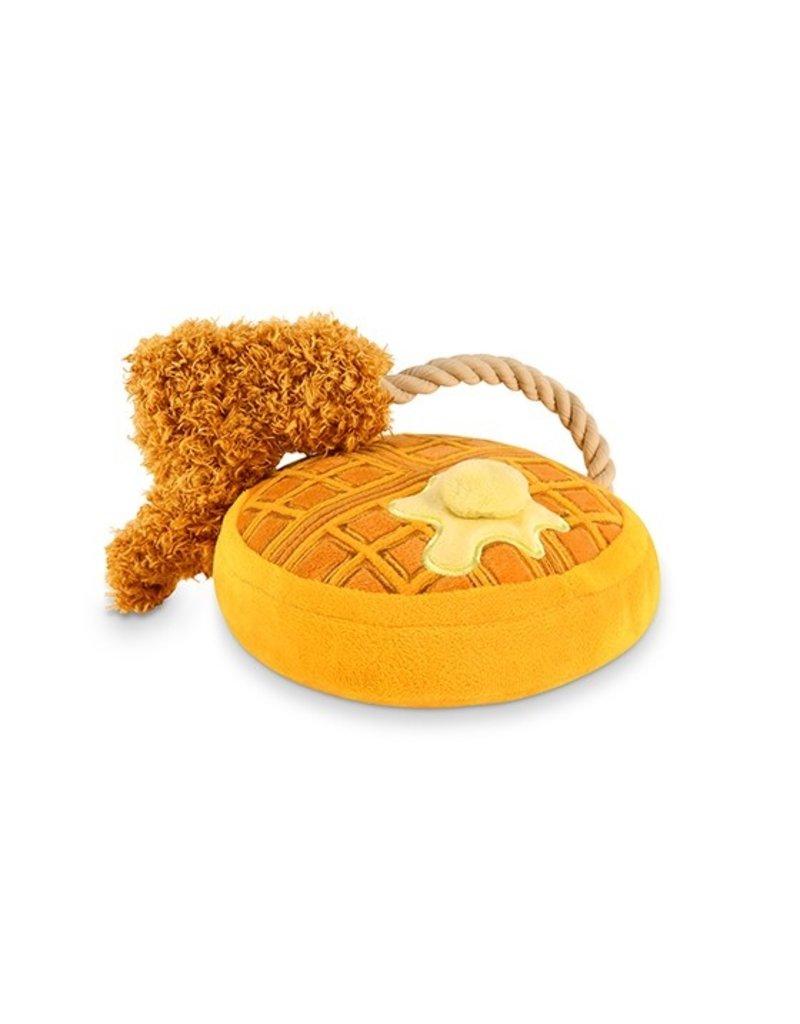 P.L.A.Y. Barking Brunch Chicken & Woofles Dog Toy