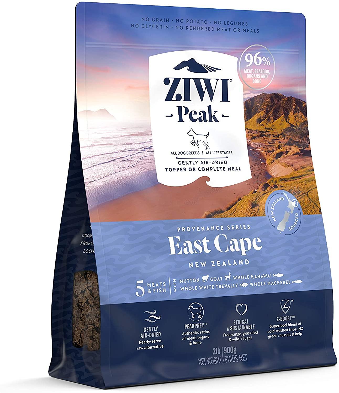 Ziwi Peak Dog East Cape Recipe Air-Dried Dog Food, 2-lb