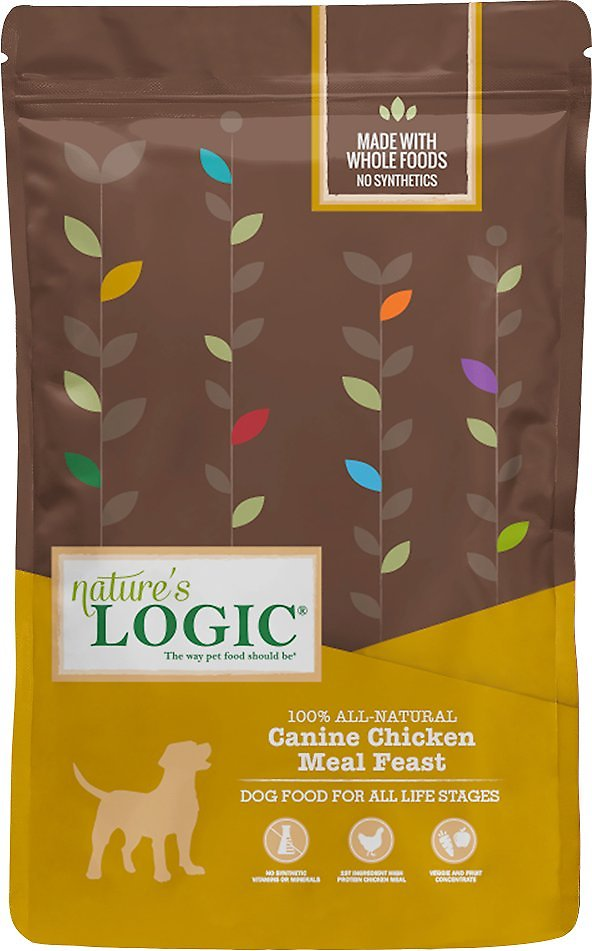 Nature's Logic Canine Chicken Meal Feast Dry Dog Food, 25-lb bag
