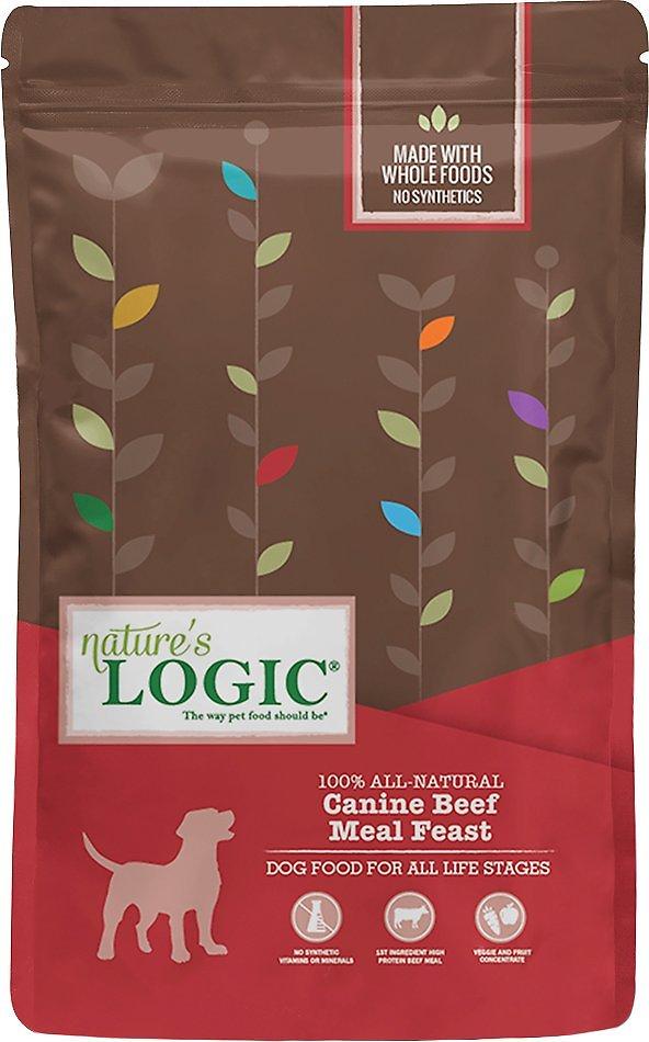 Nature's Logic Canine Beef Meal Feast Dry Dog Food, 13-lb bag