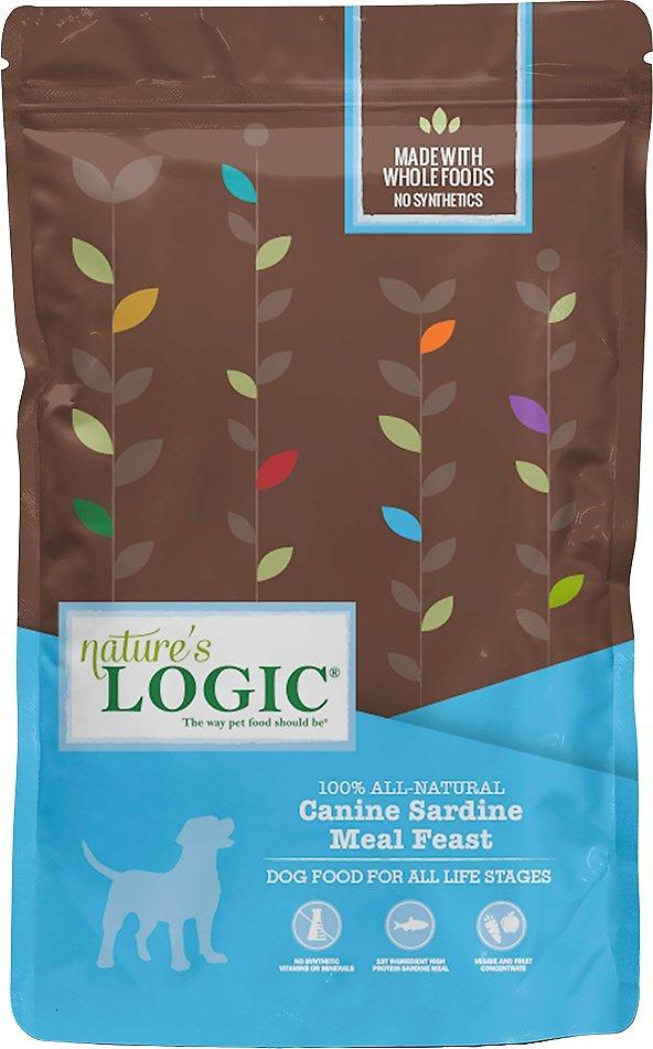 Nature's Logic Canine Sardine Meal Feast Dry Dog Food, 25-lb bag