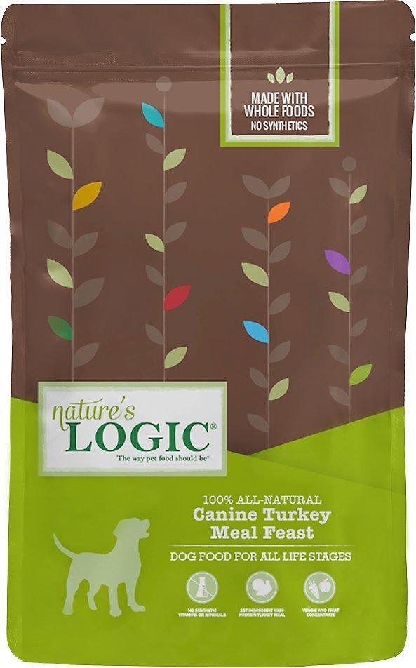 Nature's Logic Canine Turkey Meal Feast Dry Dog Food, 25-lb bag