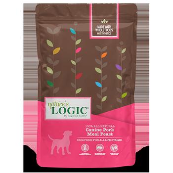 Nature's Logic Canine Pork Meal Feast Dry Dog Food, 25-lb bag