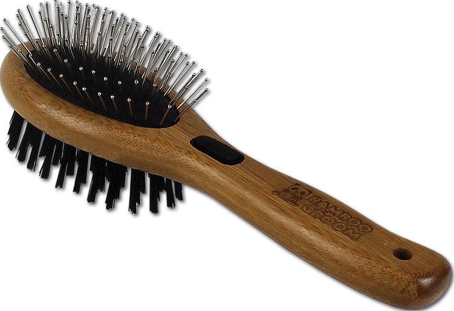 Bamboo Groom Combo Pet Brush Image