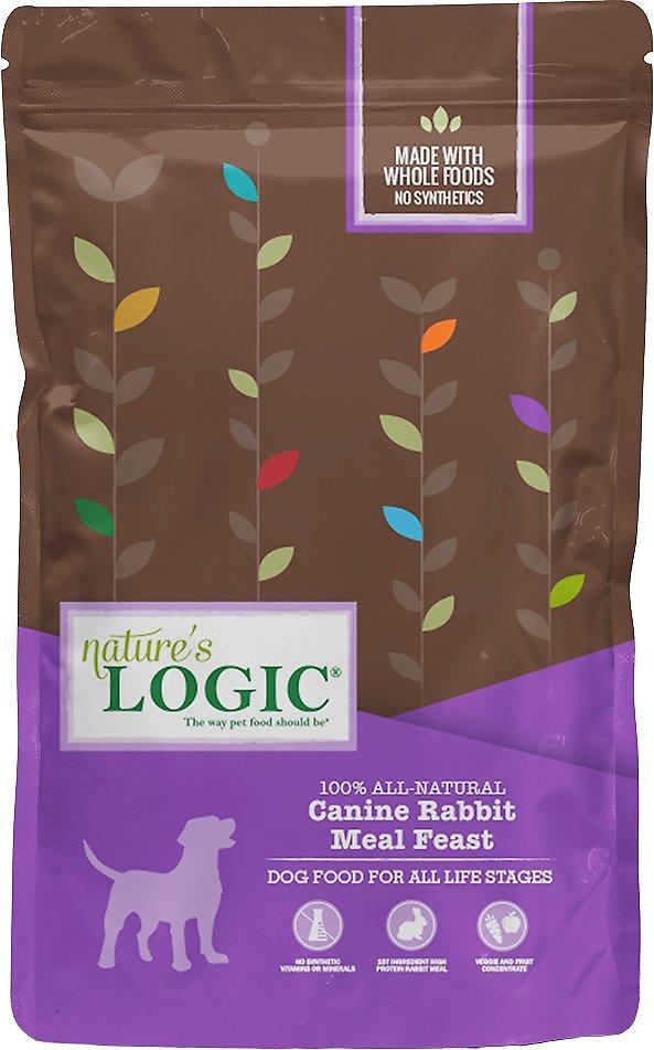 Nature's Logic Canine Rabbit Meal Feast Dry Dog Food, 25-lb bag