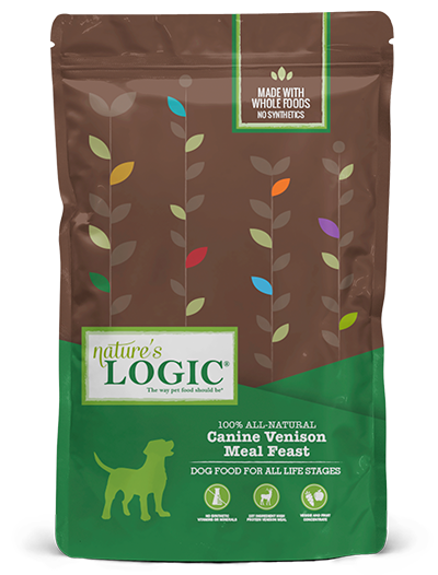 Nature's Logic Canine Venison Meal Feast Dry Dog Food, 25-lb bag