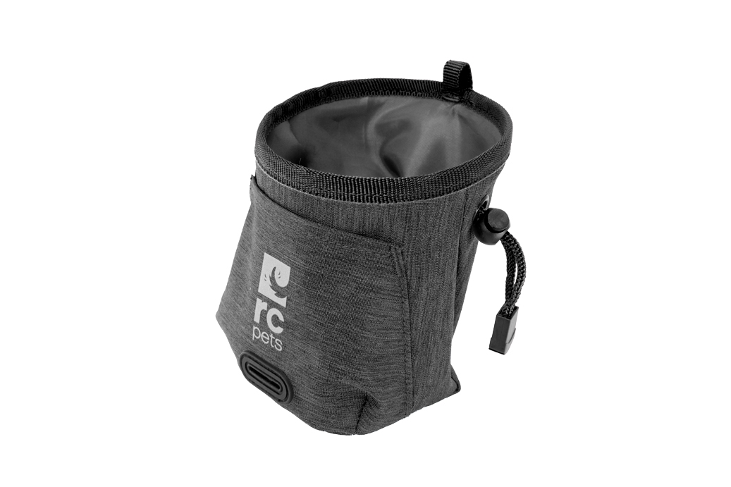 RC Pet Products Essential Treat Bag, Heather Black