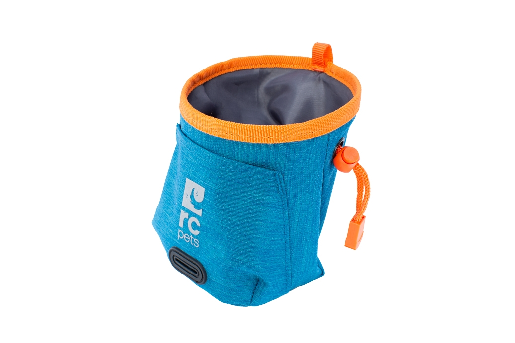 RC Pet Products Essential Treat Bag, Heather Teal