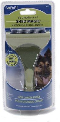 Safari Shed Magic De-Shedding Tool for Dogs, Large