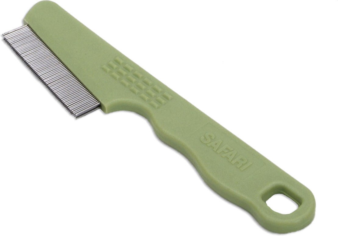 Safari Double Row Flea Comb for Dogs Image