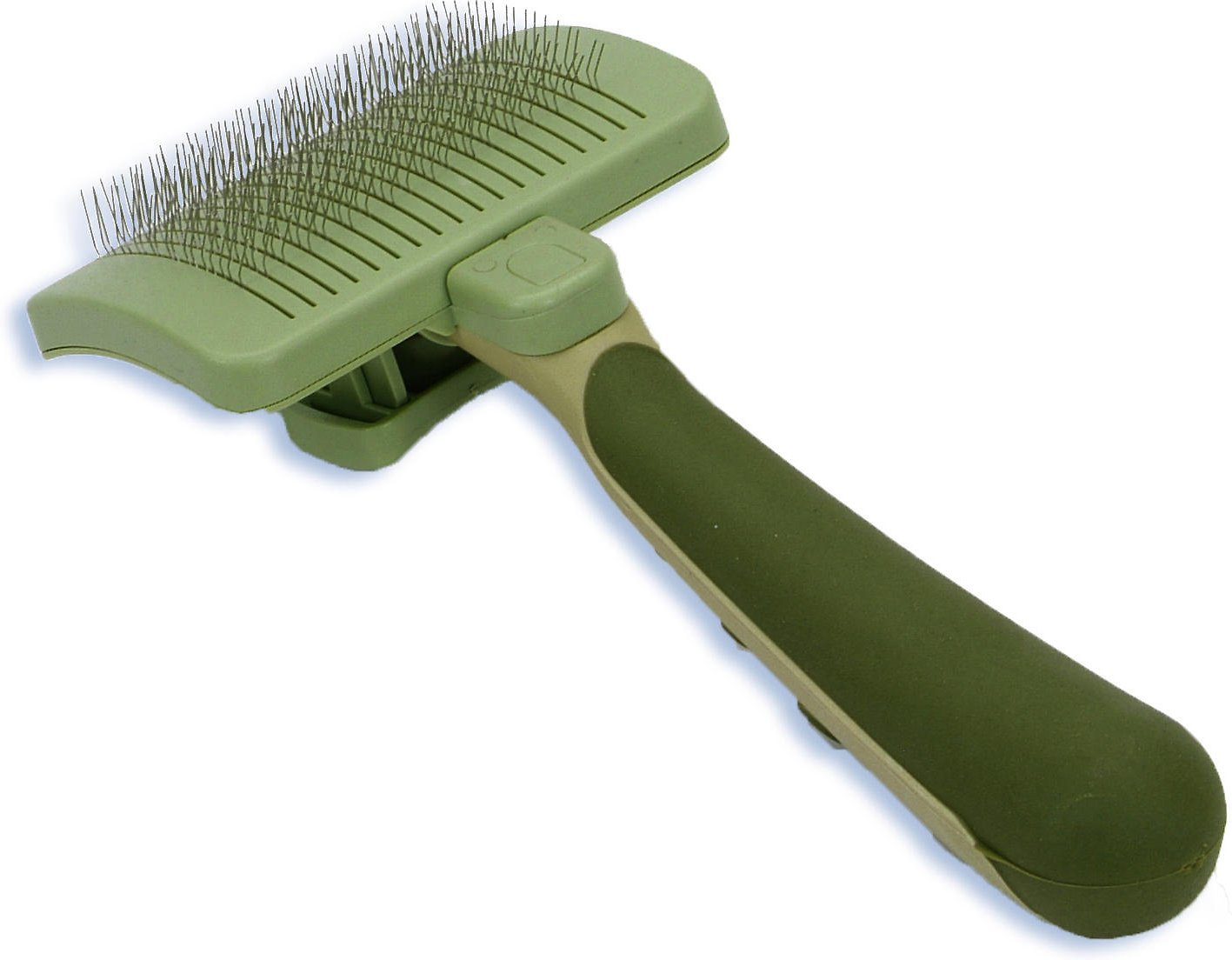 Safari Self-Cleaning Slicker Brush for Dogs Image