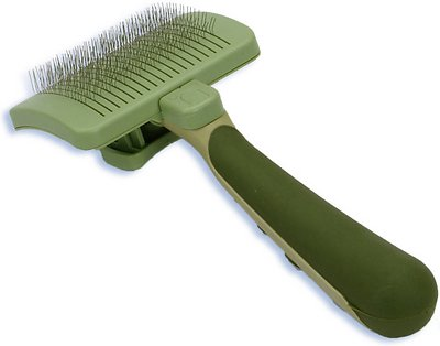 Safari Self-Cleaning Slicker Brush for Dogs, Small