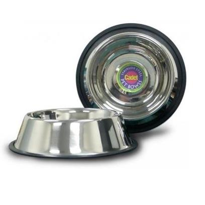 IMS Trading Cadet Stainless Steel Pet Bowl, 2-qt