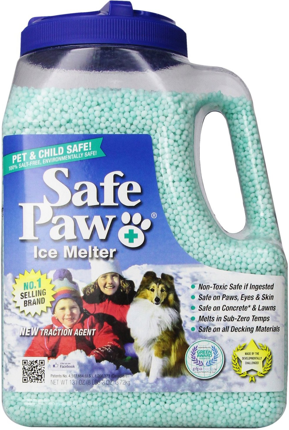 Safe Paw Ice Melter for Dogs & Cats Image