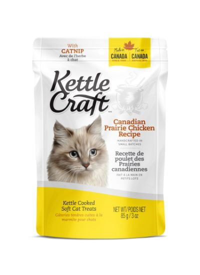 Kettle Craft Canadian Prairie Chicken Cat Treats, 85-gram