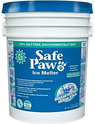 Safe Paw Ice Melter for Dogs & Cats, 35-lb