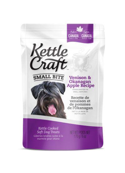 Kettle Craft Venison & Okanagan Apple Dog Treats, Small, 170-gram