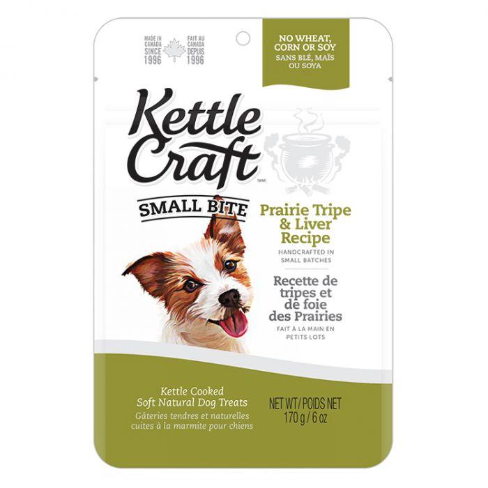 Kettle Craft Prairie Tripe & Liver Dog Treats, Small, 170-gram