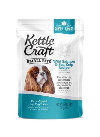 Kettle Craft Wild Salmon & Sea Kelp Dog Treats Image