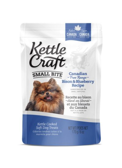 Kettle Craft Bison & Blueberry Dog Treats, Small, 170-gram
