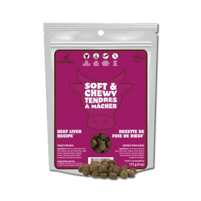 Northern Biscuit Beef Liver Grain-Free Dog Treats, 113-gram