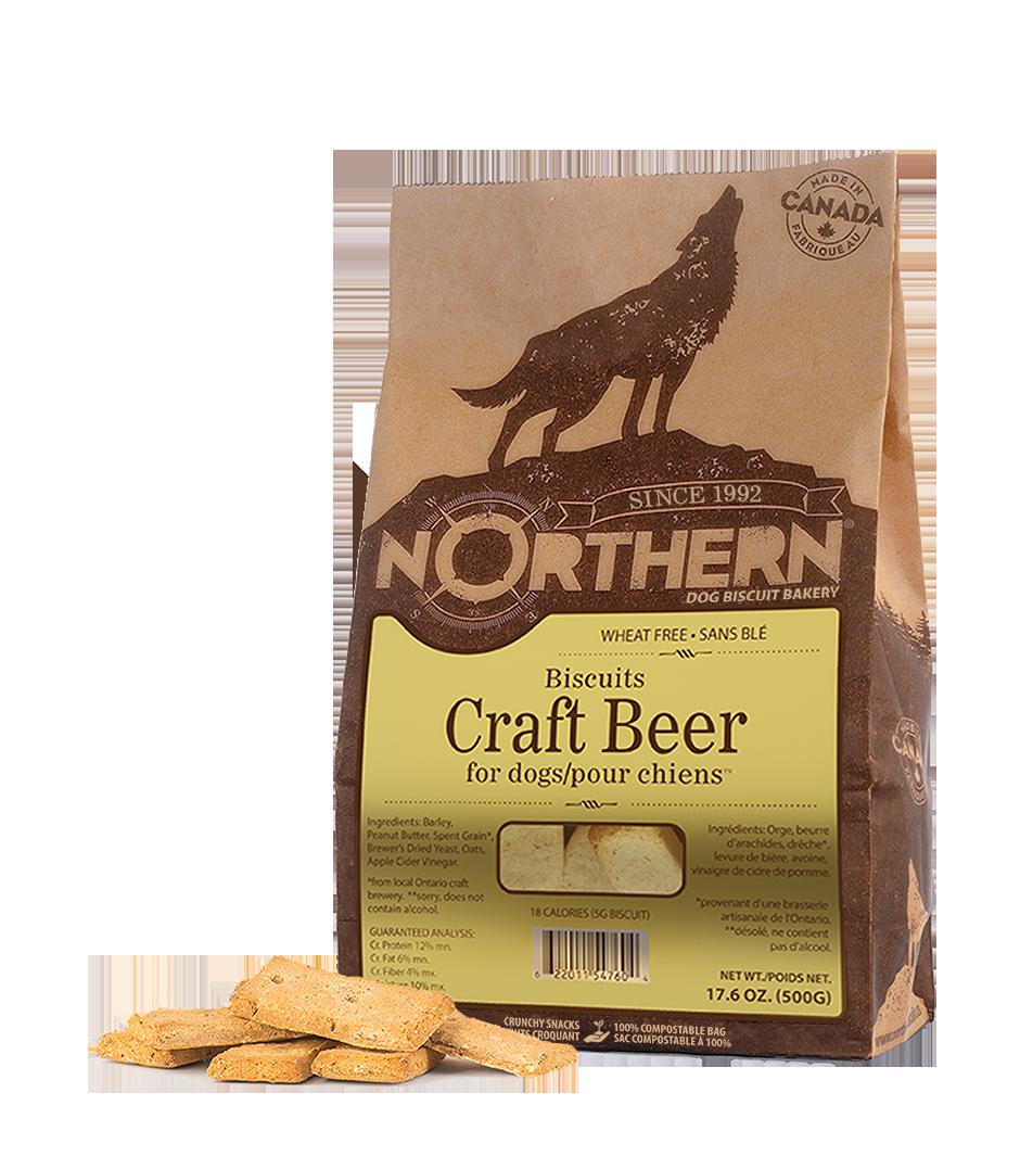 Northern Biscuit Craft Beer Dog Treats, 500-gram
