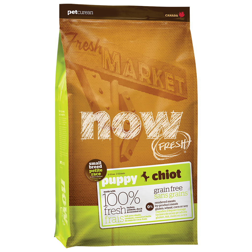 Now Fresh Market Turkey, Salmon & Duck Grain-Free Small Breed Puppy Food, 25-lb