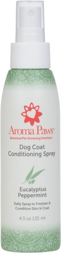 Aroma Paws Eucalyptus Peppermint Dog Coat Conditioning Spray, 4.5-oz