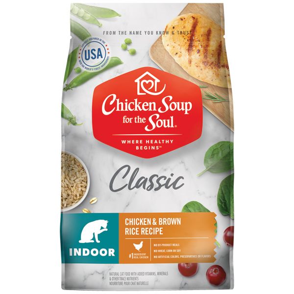 Chicken Soup for the Soul Classic Indoor Chicken & Brown Rice Dry Cat Food Image