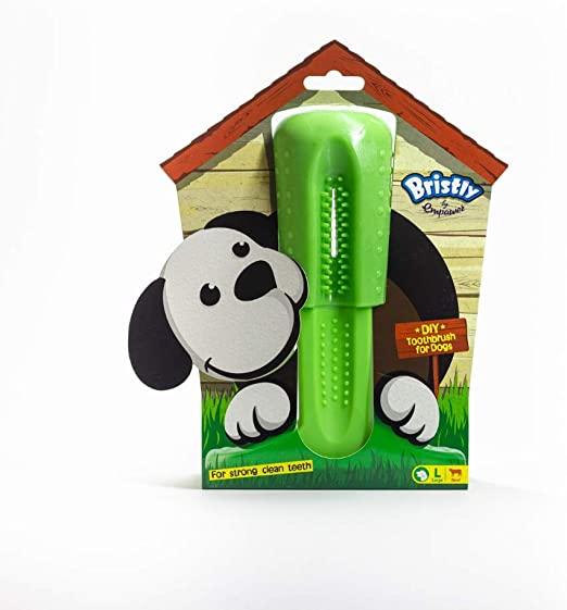 Bristly Brushing Stick Toothbrush Dog Toy, Small
