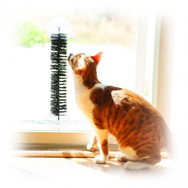 K&H EZ Mount Self-Grooming Cat Brush