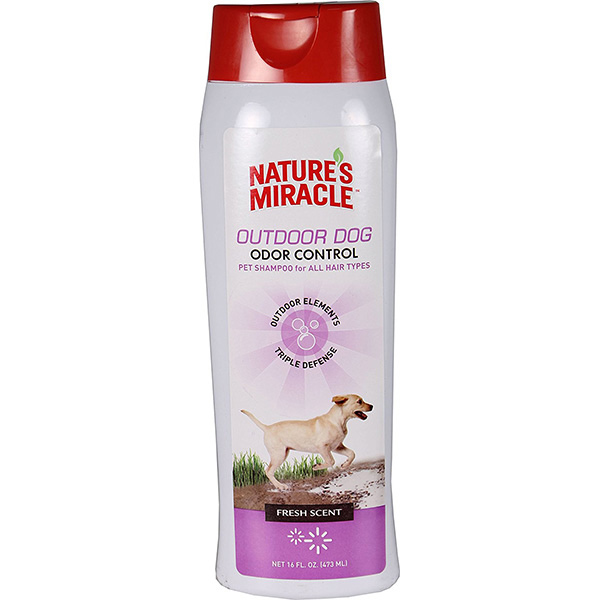 Nature's Miracle Outdoor Odor Control Dog Shampoo, 16-oz