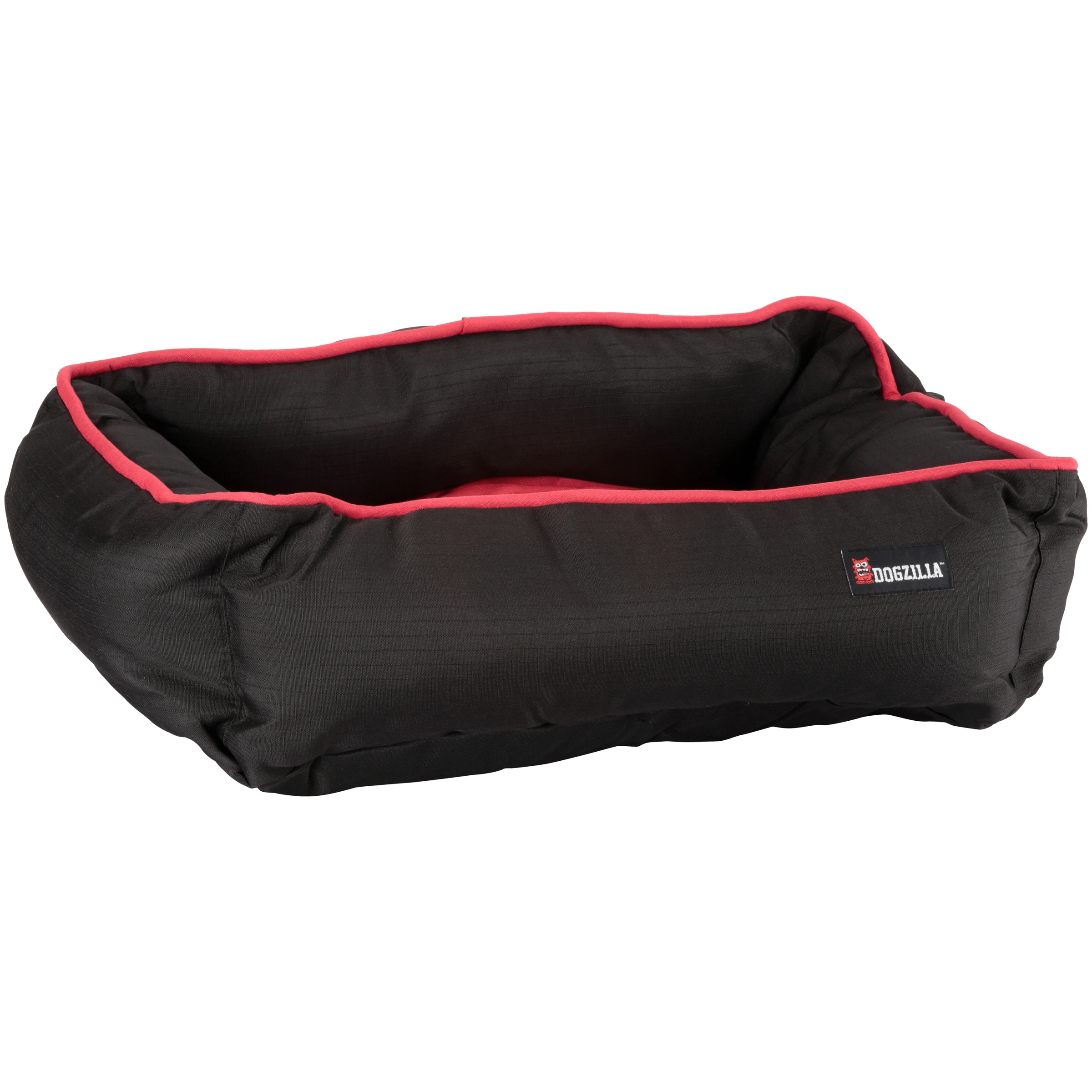 Petmate Dogzilla Rectangular Lounger Dog Bed, 22x18-in