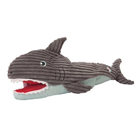 Hugglehounds  Squeaky Craig The Interactive Shark Dog Toy Image