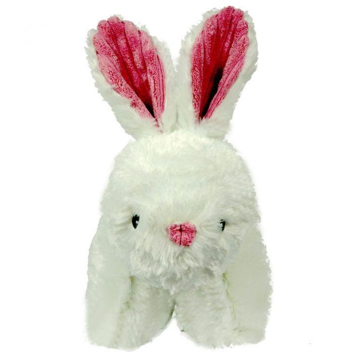 Hugglehounds Squooshie Bunny Dog Toy, Large