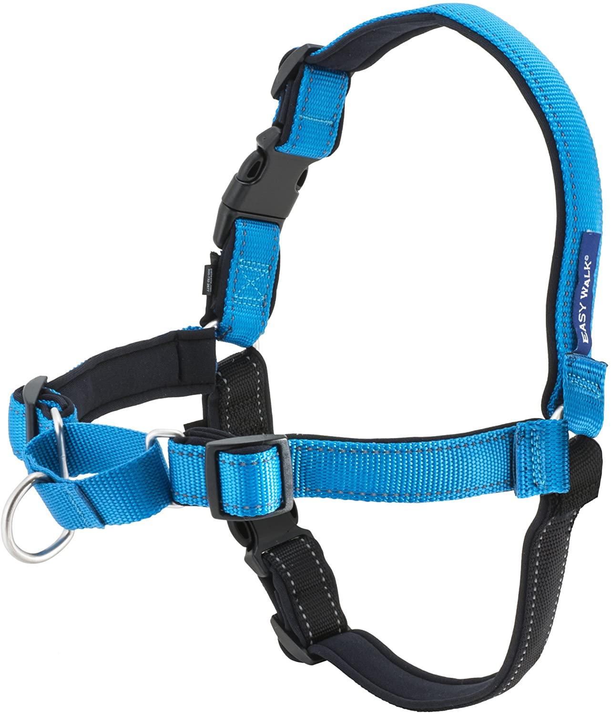 PetSafe Easy Walk Deluxe Dog Harness, Ocean, Medium