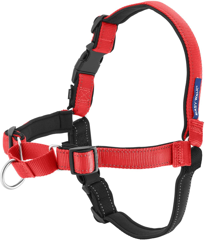 PetSafe Easy Walk Deluxe Dog Harness, Rose Pink, Medium/Large