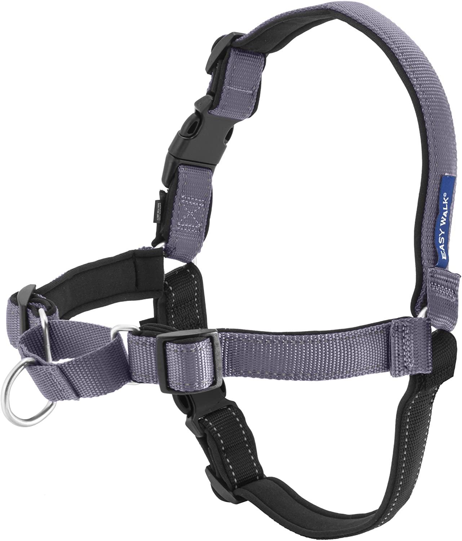 PetSafe Easy Walk Deluxe Dog Harness, Steel, Small