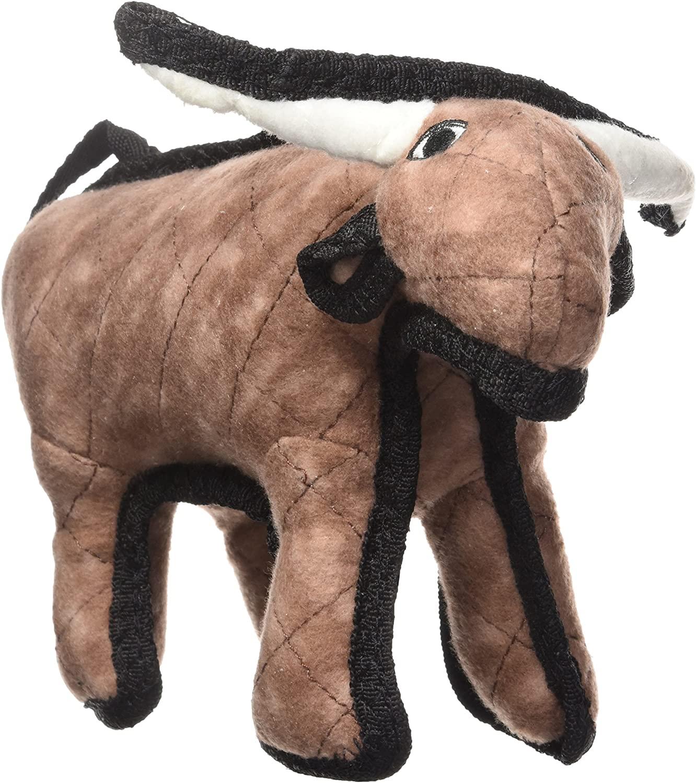 Tuffy's Barnyard Bull Dog Toy, Junior