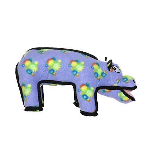 Tuffy's Zoo Hippo Dog Toy, Regular