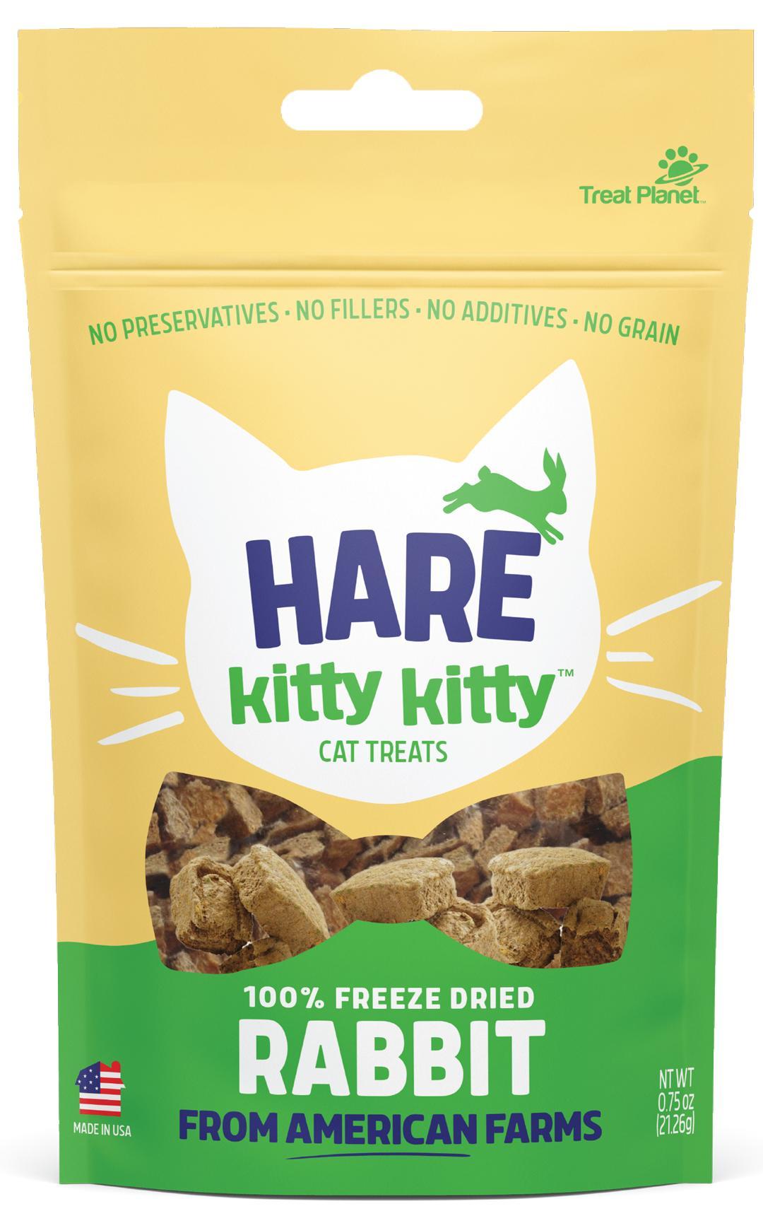 Hare Kitty Kitty Freeze Dried Rabbit Cat Treats Image