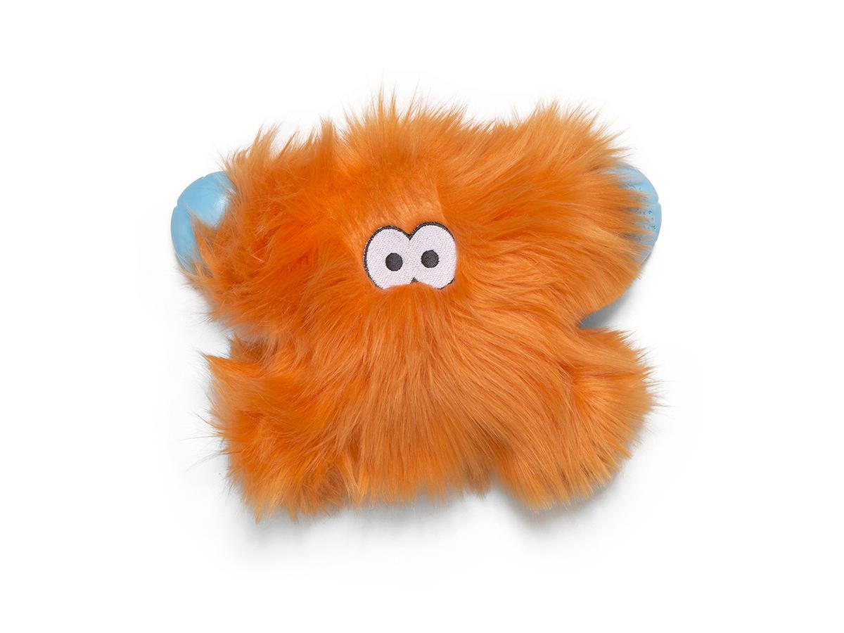 West Paw Rowdies Fergus Dog Toy, Orange