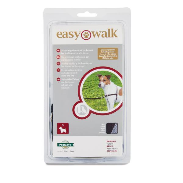 PetSafe Deluxe Easy Walk Dog Harness, Black, X-Small