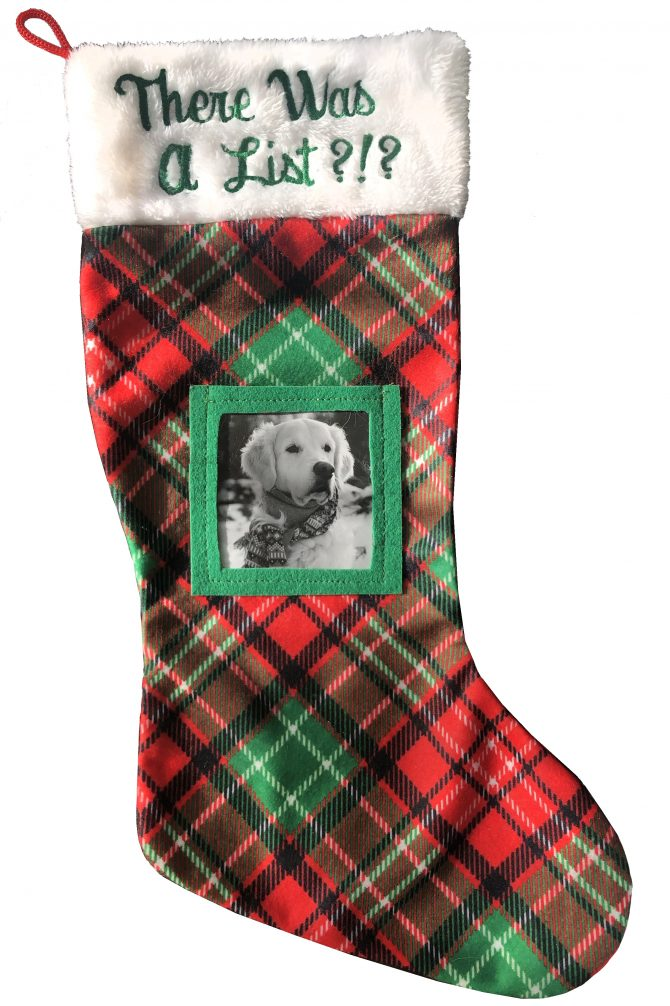Huxley & Kent There Was A List Dog Stocking