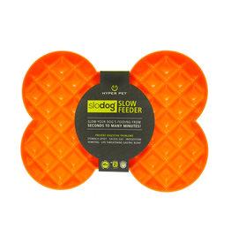 Hyper Pet Slodog Slow Feeder Dog Bowl, Orange