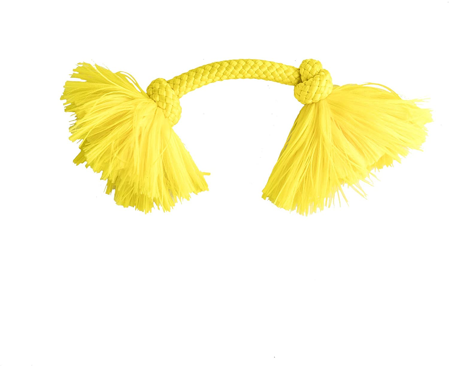 Playology Dri-Tech Rope Chicken Scented Dog Toy, Small