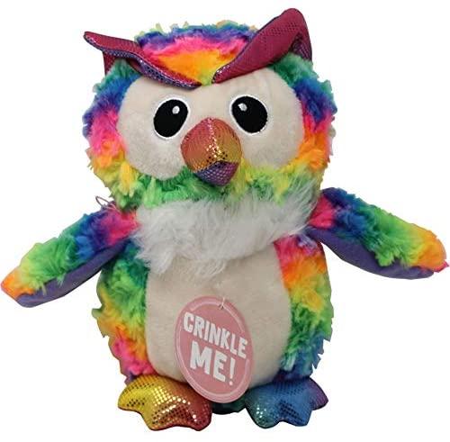Snugarooz Snugz Hootie the Owl Dog Toy, 10-in