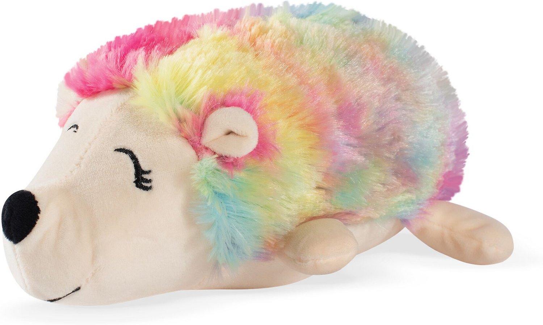 Pet Shop by Fringe Studio Tina the Hedgehog Squeaky Plush Dog Toy
