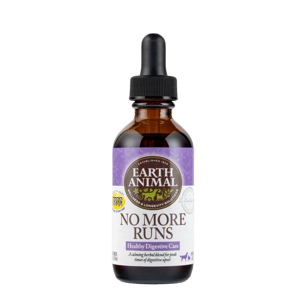 Earth Animal Organic Herbal Remedies No More Runs Pet Supplement, 2-oz