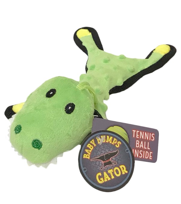 Steel Dog Baby Bumps Gator Dog Toy